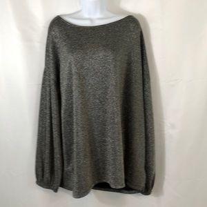 Long sparkling blouse 3X c. Oliver